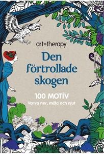 Bild på Den förtrollade skogen : 100 motiv - varva ner, måla och njut