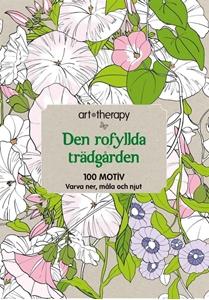Bild på Den rofyllda trädgården : 100 motiv - varva ner, måla och njut