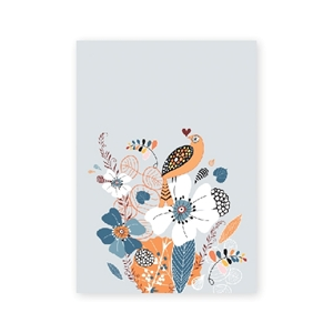 Bild på Fantasia: orange bird a5