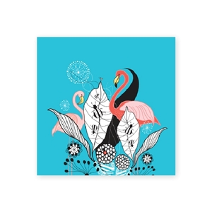 Bild på Fantasia: flamingos mini