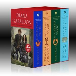Bild på Outlander 4-Copy Boxed Set