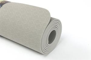 Bild på ELEMENTS eko yoga mat 4 mm SAND