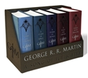 Bild på George r. r. martins a game of thrones leather-cloth boxed set (song of ice