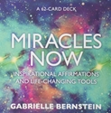 Bild på MIRACLES NOW: Inspirational Affirmations & Life-Changing Tools (62-card deck & guidebook)