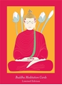 Bild på Buddha four lotuses cards