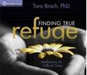 Bild på Finding true refuge - meditations for difficult times