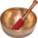 Bild på Tibetansk skål liten : 12 cm diameter