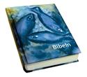 Bild på Bibeln cartonage fiskmotiv liten