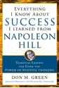 Bild på Everything I Know About Success I Learned from Napoleon Hill : Essential Lessons for Using the Power of Positive Thinking