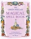 Bild på Green wiccan magical spell book - a compendium of magical knowledge