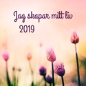 Bild på Jag skapar mitt liv 2019 (väggkalender, large)