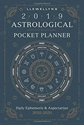 Bild på Llewellyns 2019 astrological pocket planner - daily ephemeris and aspectari