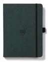 Bild på Dingbats* Wildlife A5+ Green Deer Notebook