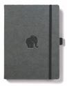 Bild på Dingbats* Wildlife A4+ Grey Elephant Notebook
