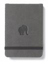 Bild på Dingbats* Wildlife A6+ Reporter Grey Elephant Notebook