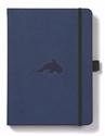 Bild på Dingbats* Wildlife A5+ Blue Whale Notebook