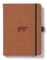 Bild på Dingbats* Wildlife A5+ Brown Bear Notebook