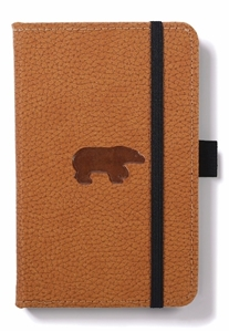 Bild på Dingbats* Wildlife A6 Pocket Brown Bear Notebook
