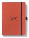 Bild på Dingbats* Wildlife A5+ Orange Tiger Notebook
