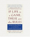 Bild på If life is a game, these are the rules - ten rules for being human as intro