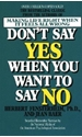 Bild på Don't Say Yes When You Want to Say No