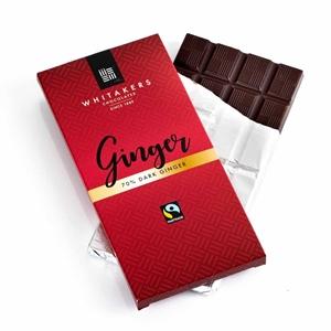 Bild på 70% Dark Ginger Chocolate Bar